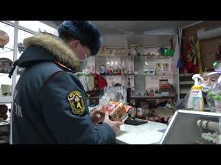 В Марий Эл сотрудники МЧС проводят рейды по выявлению контрафактных салютов и фейерверков