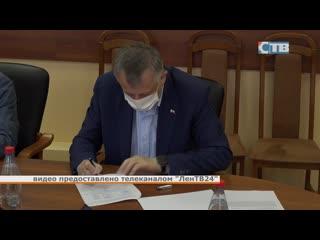Александр Дрозденко подал заявление о выдвижении кандидатом на пост губернатора Ленинградской области