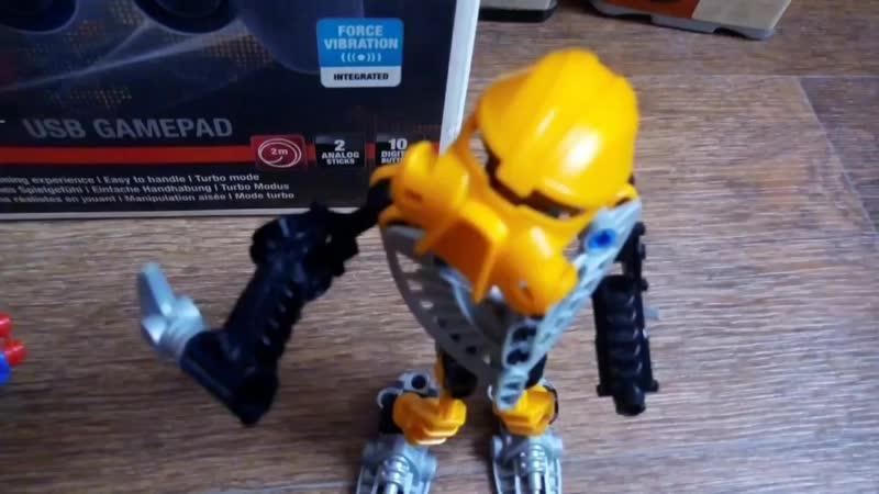 Bionicle Adventure 1 сезон 6 серия Чудом уцелевшие