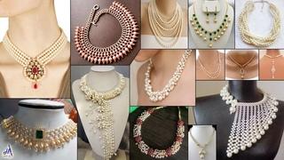 WOW!!! DIY Fancy Party Wear & Bridel Wear Necklace - For Gown Dresses