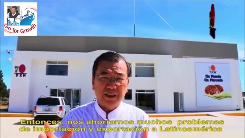 Dr Lim opens coffee and Noni juice DXN factories in Mexico DXN EXPANDING WORLDWIDE