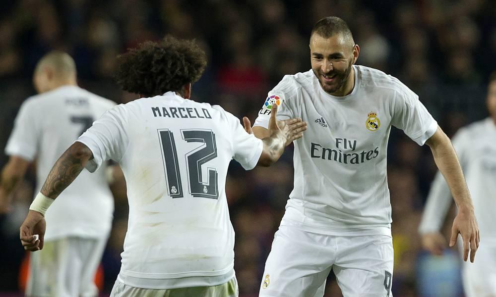 Марсело и Карим Бензема. ФК Реал Мадрид