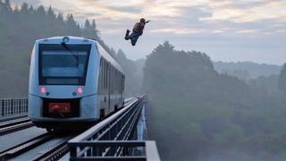 Train BASE Jump & Impossible skate tricks | Ultimate action compilation #3