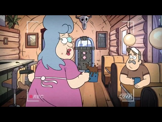 06 - The Hide-Behind - Gravity Falls - Dipper's Guide to the Unexplained · coub, коуб