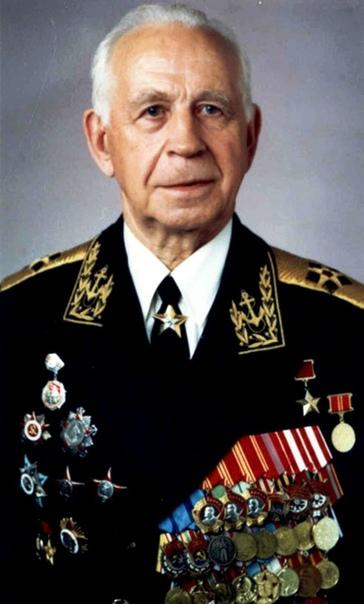 Адмирал флота В.А. Касатонов