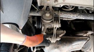 Замена натяжного ролика и приводного ремня на LADA Priora с кондиционером Лада Приора  2009 г