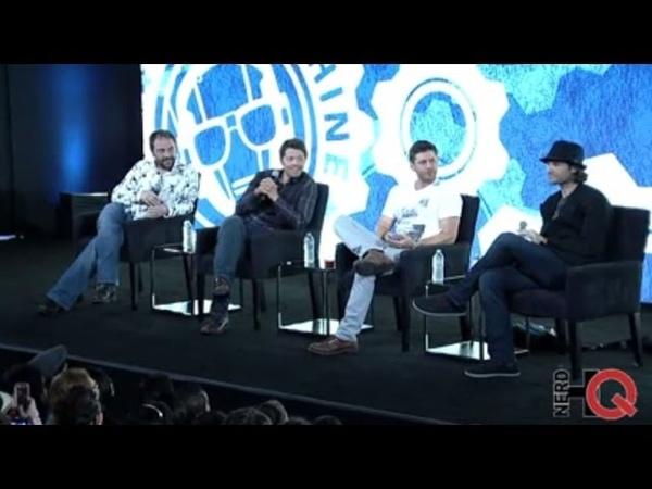 Вопросы и ответы панель «Сверхъестественного», Nerd HQ 2014 [rus subs]