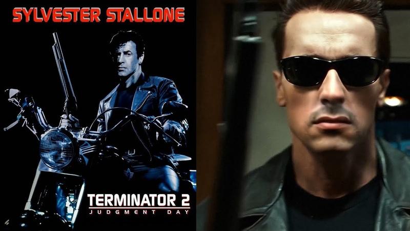 Terminator 2 starring Sylvester Stallone DeepFake