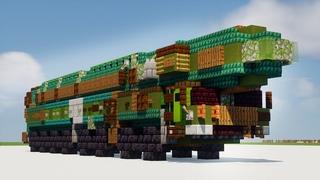 Minecraft Topol-M Russia ICBM Launcher Tutorial