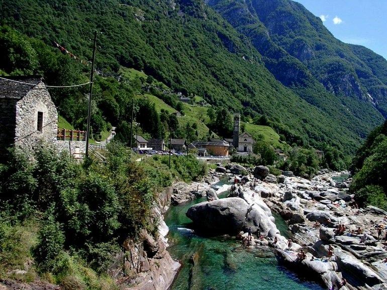 Верзаска — самая прозрачная река в Швейцарии, изображение №2