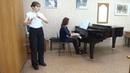 К. Нильсен, Концерт для флейты, 1 часть, исп. Фомушко Екатерина, концертмейстер Мосалева Юлия