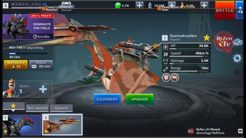 Jurassic Monster World Dino War JMW GamePlay Day 4 Music by NCM NCS