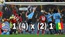 Uruguai 1 x 1 Gana (Pênaltis 4-2) Copa do Mundo África 2010 (GLOBO HD 1080p)