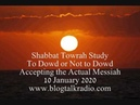 Shabbat Towrah Study To Dowd or Not to Dowd 10 January 2020