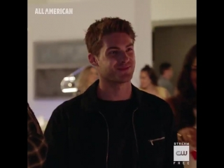 Not just a jock. see cody christian in allamerican wednesday, october 10 on the cw.