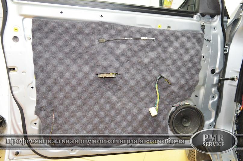 Шумоизоляция Mitsubishi L200, изображение №15