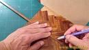 Flooring tutorial dollhouse miniature 1 12 scale hard floor demonstration Instructions