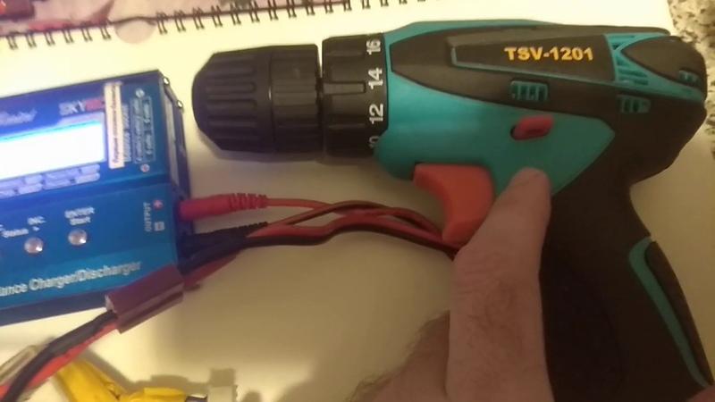 Тесть аккумуляторов из магазина светофор TSV 1201 часть 2