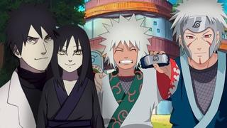 Родители Орочимару и Джирайи в аниме Наруто