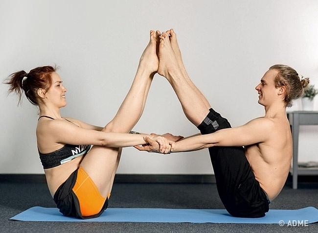 Парная йога — обязательно попробуйте, изображение №6