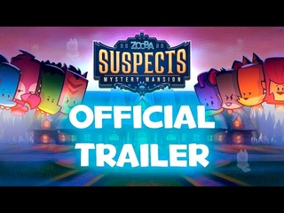 Suspects: Mystery Mansion - Launch Trailer