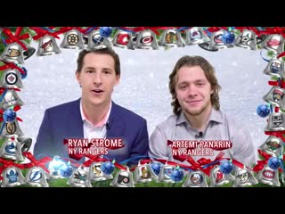 Happy Holidays from the NHL