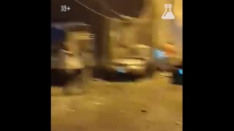 Взрыв на топливном складе в Бейруте