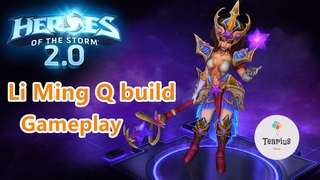 Li ming Q build gameplay 2020 heroes of the storm gameplay 2020 HotS gameplay game tutorial Blizzard