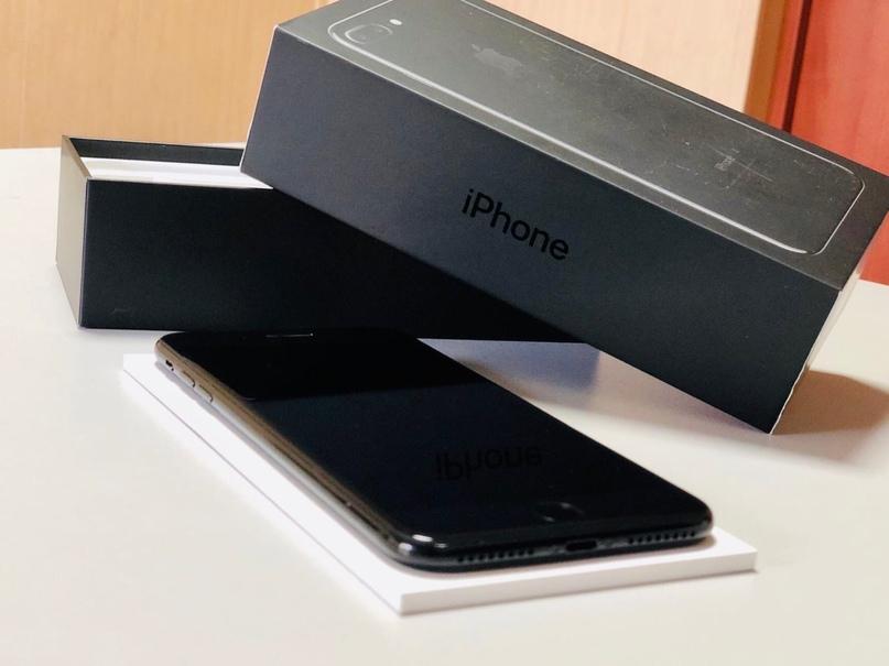 Купить iPhone 7 Plus на 128 ГБ чёрный глянец.    Объявления Орска и Новотроицка №8409