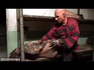 HorrorPorn: Freddy fuck sexy girl (porno,sex,full,xxx,hardcore,blowjob)