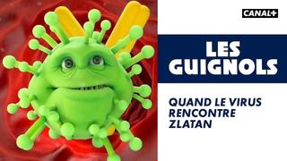Quand le virus rencontre Zlatan - Les Guignols - CANAL+