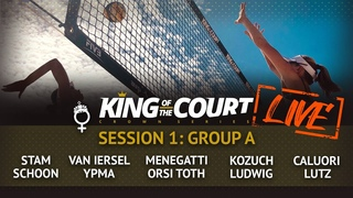 LIVE 🔴  Women's Group A - Session 1 | Beach Volleyball | King of the Court Utrecht 2020
