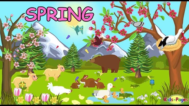 Spring English Vocabulary