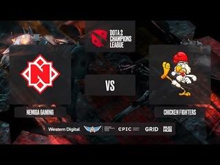 Nemiga Gaming vs Chicken Fighters, D2CL 2021 Season 2, bo3, game 2 [Lex & Lazar']
