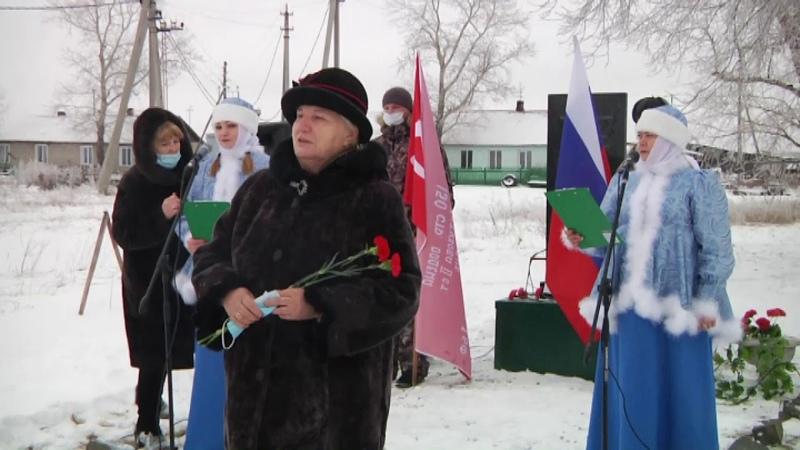 В двух населенных пунктах Барабинского района появились памятные места
