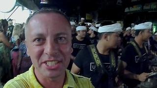 #51 ИНДОНЕЗИЯ, трали-БАЛИ. Встреча нового 1940 года, парад индонезийских монстров Ого-Ого в Убуде