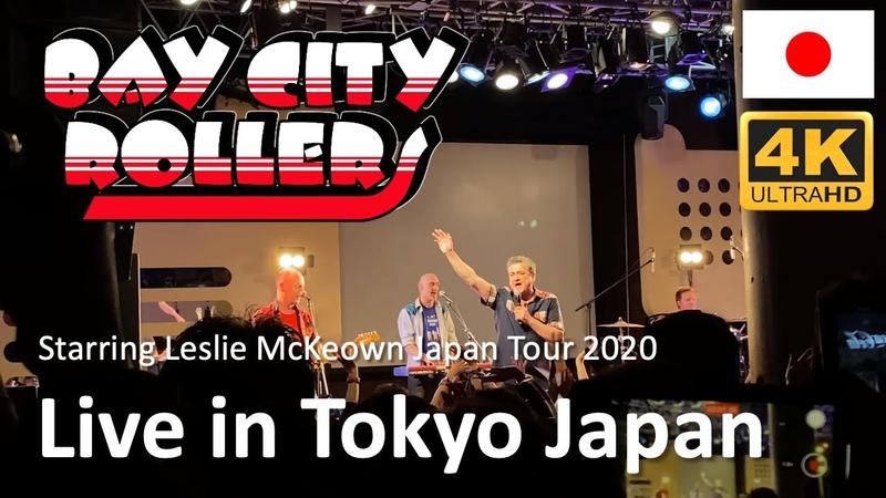 Bay City Rollers starring Leslie McKeown live in Tokyo Japan 2020
