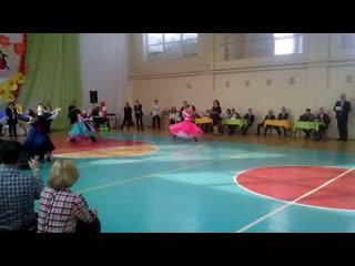 Танцевальный ринг . Первенство МО город Сарапул двоеборье (стандарт)