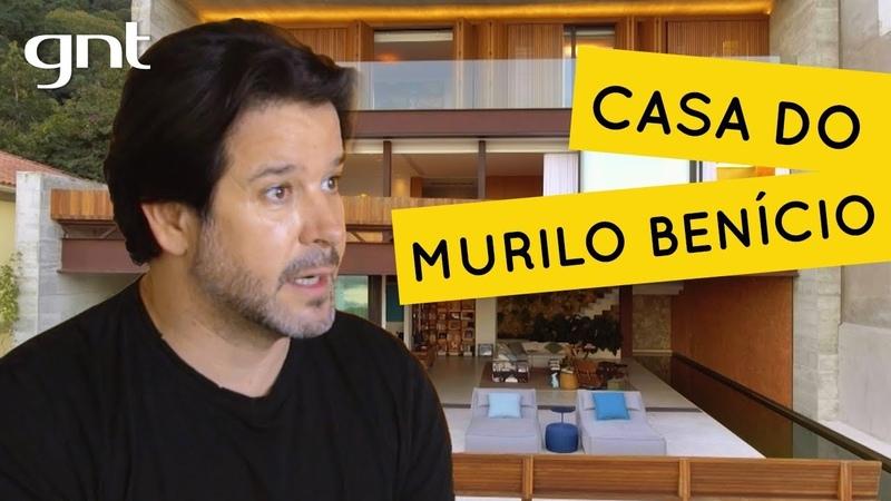 Murilo Benício mostra sua casa com vista para cartão postal do Rio de Janeiro Casa Brasileira