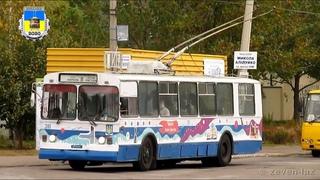 Черкасский троллейбус- ЗиУ-682В №310