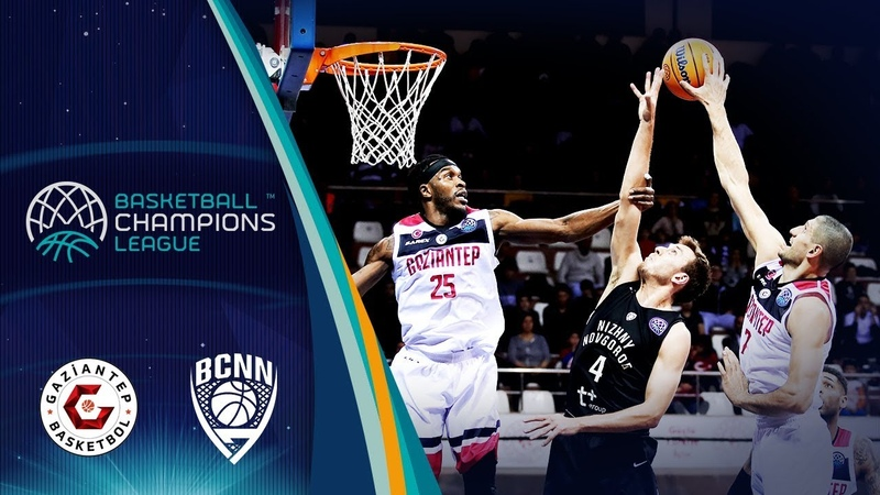 Gaziantep v Nizhny Novgorod - Highlights - Basketball Champions League 2019-20