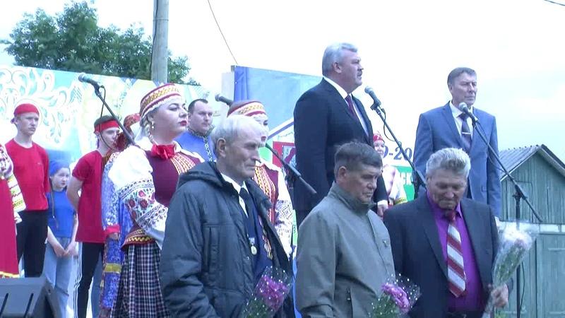 Арт-парад районного фестиваля художественного творчества Любимый край, благословенный
