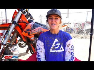 Rily Castloo Took Five Years Off to Start a Family, But She's Back on the Motocross Track!