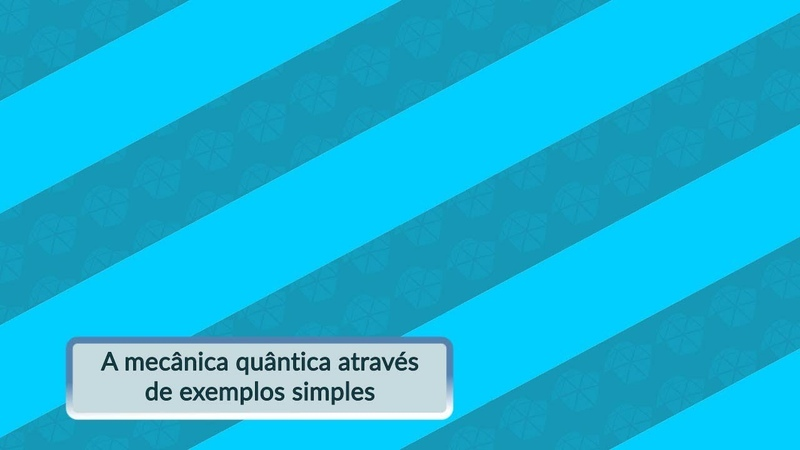 A mecânica quântica através de exemplos simples