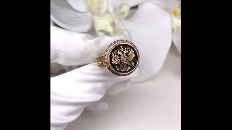 Раньше перстень олицетворял власть🤵🏼 и достаток💰Сегодня это трендовый мужской аксессуар 💫Изображение российского герба придает к