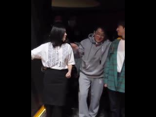 Джеки Чан на премьере анимационного фильма «Дракон желаний»  года