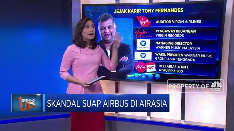 Skandal Suap Airbus Seret Bos AirAsia Tony Fernandes