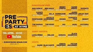 🔴 DIRECTO / LIVE · PrePartyES at Home · Eurovision 2020