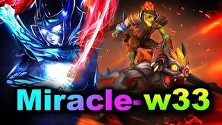 Miracle- Phantom Assassin vs w33 Batrider -  HIGH MMR DOTA 2