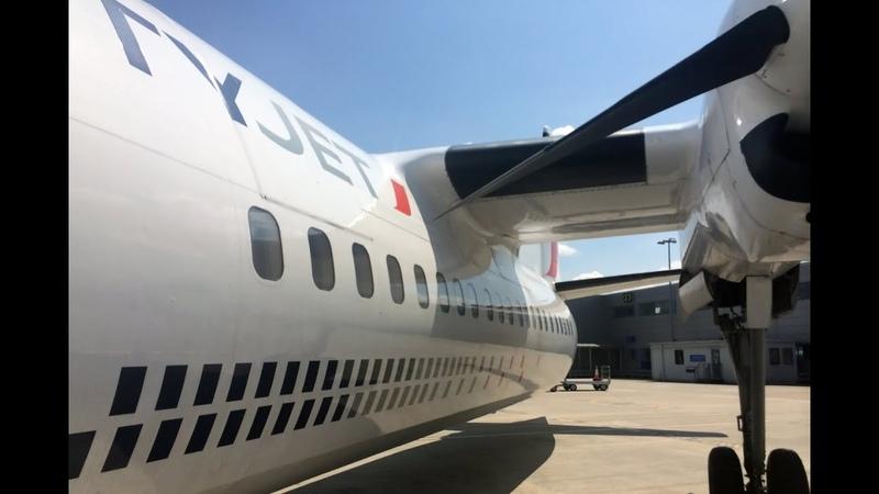 CityJet Fokker F50 LCY ANR Economy